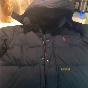 Boys polo COAT (M 10/12)